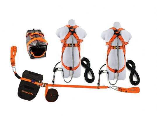 20m Webbing Restraint Lifeline Kit (2 Person)